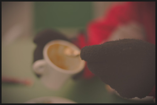 A cofee...