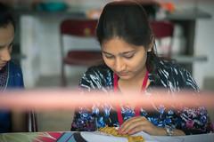 Service Project  Art Workshop - Amartithi Banner making
