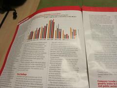 Graph! (cleanskies) Tags: advert guardian supplement hot100recruitmentconsultancies