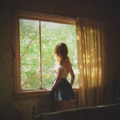 (yyellowbird) Tags: summer house selfportrait abandoned girl lolita cari