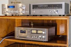 Vintage Stuff (AudioClassic) Tags: sony amplifier pioneer vintagehifi pioneertx608 sa608 pioneersa608 audioclassic sonytc206cassettedeck