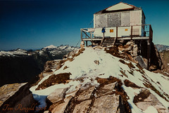 Green Mt Lookout 1986 (Tom Ringold) Tags: architecture washington places lookout historicplaces greenmountainlookout