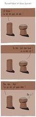 Bonnet blanc et blanc bonnet (complimentdobjet) Tags: illustration comics humour strip bd zed bouchon kippa juif keses complimentdobjet