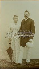 Dubbelportret van echtpaar