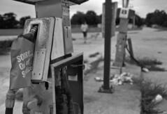 'Out of Service' (Leicaflex SL, 35mm Elmarit) (PositiveAboutNegatives) Tags: leica film 35mm sl leicaflex elmarit leitz leicar blackandwhitefilmphotography leicafilmphotography freefilmimages freefilmpictures