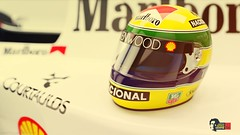 Senna's Helmet (William Kimura) Tags: wallpaper car race helmet f1 mclaren sempre corrida senna automobilismo ayrton capacete mp48