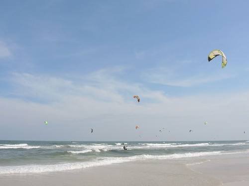 Kitesurfing, Hua Hin, Thailand