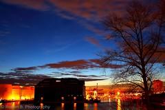 Behala Westhafen, Berlin (Robert.B. Photography) Tags: sun clouds sunrise harbor crane wolken container westport hafen sonne sonnenaufgang kran westhafen himnmel