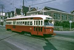 TTC 4425, Toronto, August 26, 1970 (railfan 44) Tags: toronto ttc transit streetcar pcc