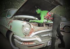 "Monster Pin Up Photo Shoot With Candace Woodward • <a style=""font-size:0.8em;"" href=""http://www.flickr.com/photos/85572005@N00/16035269530/"" target=""_blank"">View on Flickr</a>"