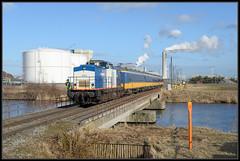 27-02-2015, Amsterdam Houtrakpolder, VR 203-3 + NSR ICR (Koen langs de baan) Tags: