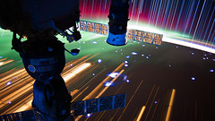 Long exposure from ISS [3840x2160] (4K and 2K Wallpapers) Tags: wallpaper scenery widescreen hires wallpapers 169 4k 2k 3840x2160 2560x1440 wqhd