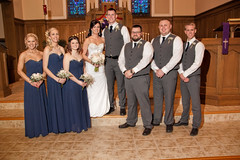 The wedding party (Gary.Lamprecht) Tags: wedding friends love canon couple marriage topaz t1i