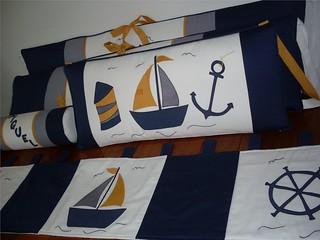 Kit berço marinheiro
