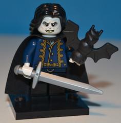 Serie 05 - Vampiro signore della notte - Micist Horrorwind (cidmassimofadda) Tags: night lego vampire 5 bat lord medieval fantasy series vampiro medievale notte pipistrello signore minifigures