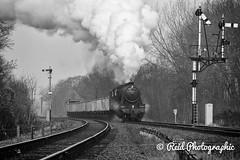 48624-Charter-p2-4 (Steven Reid - Reid Photographic) Tags: heritage train smoke engine railway steam locomotive 280 lms greatcentralrailway gcr 8f stanier 48624 8fclass