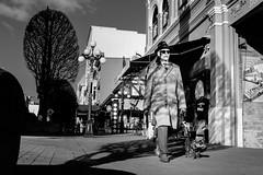 untitled (Joris_Louwes) Tags: dog man walking elderly