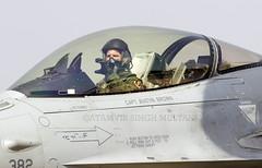 Ready for Departure (FoxbatOne) Tags: brown japan austin pacific united f16 states airforce usaf capt misawa 2015 aeroindia bengaluru pacaf yelahanka 35thfw