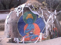 Buddha on a Rock