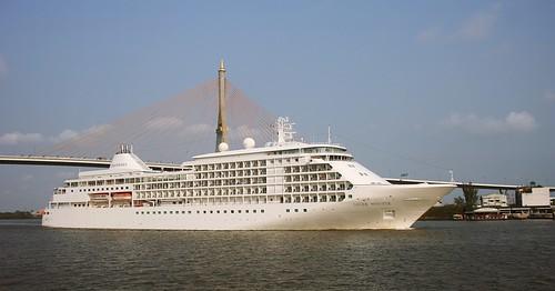 bridge cruise thailand ship samut bhumibol prakan silverseas phrapradaeng