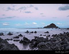 Koki Beach Sunset (Hamilton Images) Tags: sunset sky rock clouds canon landscape hawaii lava surf waves january maui hana kokibeach 2015 24105mm img2730 leefilter alauisland 7dmarkii 09softedgegraduatedneutraldensity