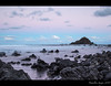 Koki Beach Sunset (Hamilton Images) Tags: sunset sky rock clouds canon landscape hawaii lava surf waves january maui hana kokibeach 2015 24105mm img2730 leefilter alauisland 7dmarkii 09softedgegraduatedneutraldensity