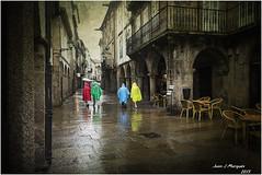 SANTIAGO (Juan J. Marqués) Tags: santiago lluvia colores selección texturas