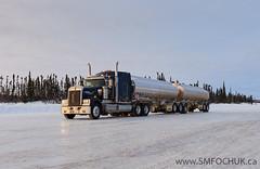 Stephen M. Fochuk_Portage_1a-2 (Stephen M. Fochuk) Tags: snow canada cold canadian transportation northwestterritories kenworth iceroadtruckers nunalogistics tibbitttocontwoytowinterroad