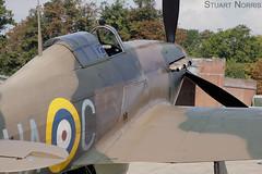 Hawker Hurricane Duxford 19th August 2011 (stu norris) Tags: aviation hurricane airshow duxford warbird hawker iwm hac ghuri