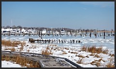 Atlantis Marina & Yacht Club (JeffKWW) Tags: park snow harbor si great statenisland kills greatkills greatkillsharbor