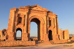 Arch of Hadrian (Wesam Alissa) Tags: history ruins roman jordan triumphalarch jerash gerasa archofhadrian emperorhadrian