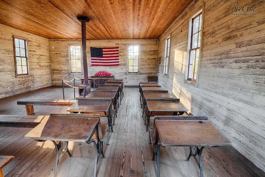 One Room School (nicksimages.com) Tags: Old School Usa House Building