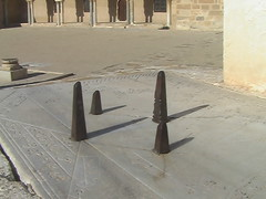 Sundial in Great Mosque of Kairouan