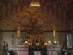 Buddha in Wat Saket