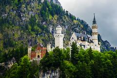 Castillo de Neuschwanstein (Lunasanz) Tags: paisajes munich mnchen alemania monumentos neuschwanstein montaas castillos baviera