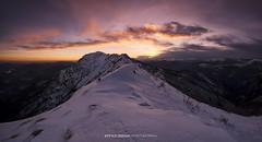 #081 Tramonto dallo Zottone - Malcantone   Explore (Enrico Boggia   Photography) Tags: tramonto explore neve inverno luganese malcantone montelema altomalcantone poncionedibreno zottone enricoboggia