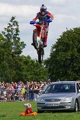 Stunts (McTumshie) Tags: england london jump unitedkingdom motorbike motorcycle peppapig rider lambeth stunt brockwellpark lambethcountryfair 16july2016
