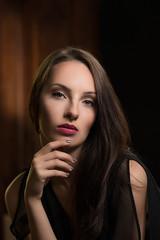 Magda-111-Edit (Bartosz Orowski Fotografia) Tags: black ciemne ciemny dark face girl headshot koszalin lowkey magda model poczta portrait portret tfp woman