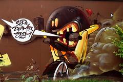 Bristol (nkellyukgraff) Tags: bristol street art graffiti sepr deams 3dom