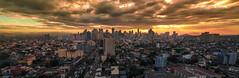 Good Morning... Panoramic view of Makati Philippines (-> LorenzMao <-) Tags: philippines makatiphilippines nikond750 tamron1530mm tamronlens d750 makati panorama pano morningclouds clouds manilaskyline makatiskyline tallbuilding skyline