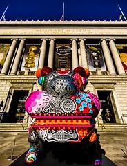 Asian Art Museum (NinjaWeNinja) Tags: sanfrancisco california building art colors museum canon vibrant 6d 1635
