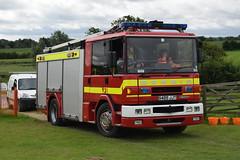 S489 JJT (markkirk85) Tags: peterborough bus rally buses 2016 fire engine appliance dennis sabre ex dorset rescue service s489 jjt s489jjt