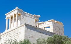 Athena Nike (mAlexandros) Tags: acropoli architettura atena atene geo grecia templi nikon greece athens attiki attica beautiful best ellade ellada ellas
