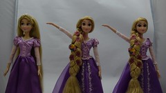 2011, 2015 and 2016 Singing Rapunzel 16 Inch Dolls Singing (drj1828) Tags: us disneystore disneyparks singing rapunzel 16inch doll purchase online 2016 deboxed standing 2015 2011 tangled