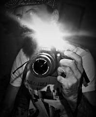 """Selfie_Night"" (giannipaoloziliani) Tags: giannipaoloziliani hombre portrait milano biancoenero milancity mirror shot night nikond3200 justme selfportrait blackandwhite monochrome black selfie myself io"