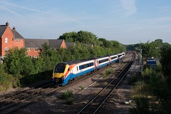 222018 - 1C17 - Syston - 23/07/16 (D9000RoyalScotsGrey Photography) Tags: 222018 emt merdian east midlands trains 1c17 derby london st pancras syston