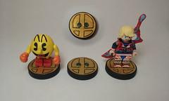 LEGO Super Smash Bros Amiibo bases (JSparkysteel) Tags: lego base amiibo dimensions shulk pacman jsparkysteel