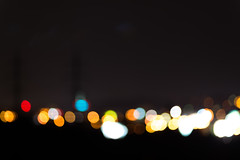 City lights in bokeh (mszucs) Tags: night lights city light background bokeh blur abstract blurred street focus traffic colorful blurry color shiny urban christmas dark vehicle glow transportation nightlife defocused neon bright scene cityscape glowing illuminated life beautiful building source town circle dot