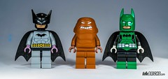 Lego Batman 1939, Clayface and Green Lantern Batman minifig by Christo (gnaat_lego) Tags: batman batman1939 christo clayface custom greenlantern hellobricks lego gnaat