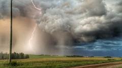 (scott.simpson99) Tags: lightning storm canada alberta mountains rockies lake lakes canmore jasper edmonton provost clouds sky weather hiking walking